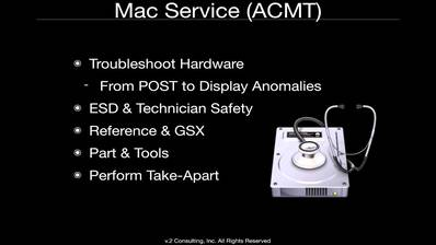 Apple Service Fundamentals